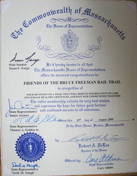 Mass Certificate