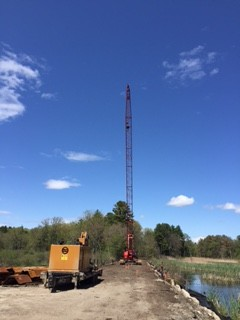 Construction near Rte 2A/119 crossing. Photo: Barbara Pike