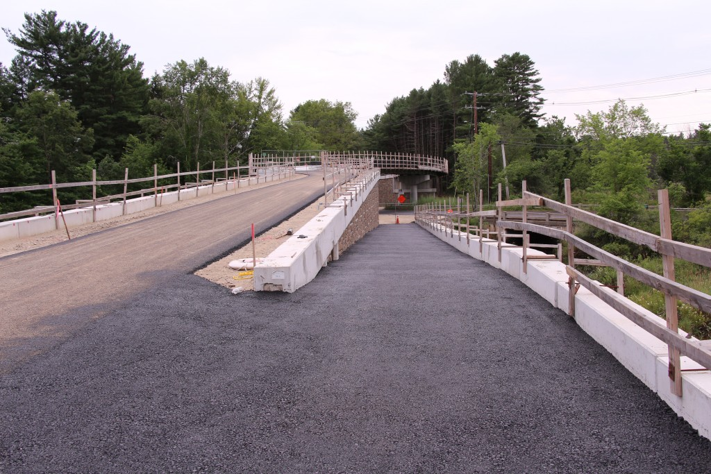 Bridge over Rt 2A/119 in Acton