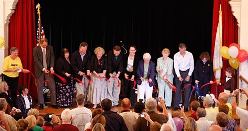 Bruce Freeman Rail Trail Ribbon Cutting Ceremony