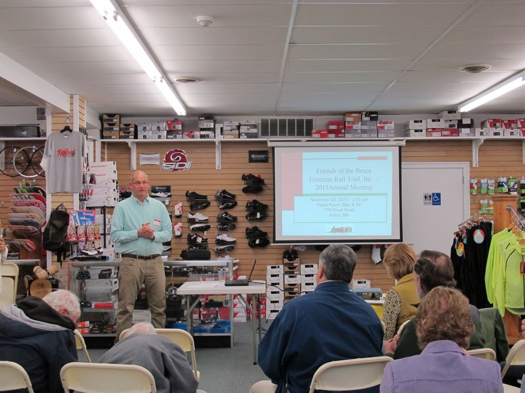 2016 Annual Meeting at Pedal Power Bike and Ski Acton
