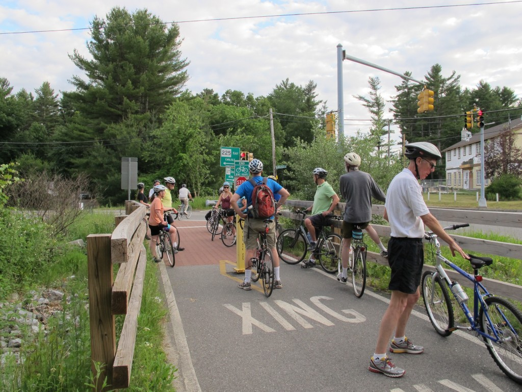 An image of the Bruce Freeman Rail Trail Summer Solstice Bike Ride 2014