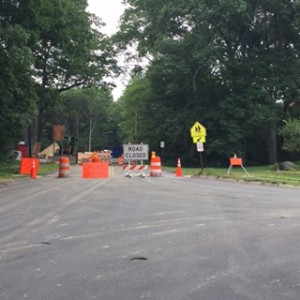 Powder Mill Road is closed until August 31, 2017