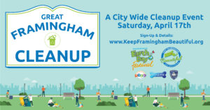 Great Framingham Cleanup - April 21, 2021